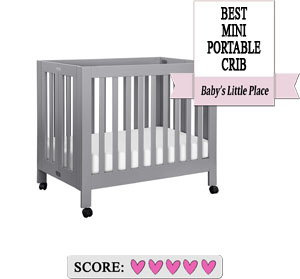 The best baby cribs to buy: Babyletto Origami