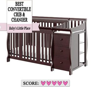The best baby cribs to buy: Storkcraft Portofino combo crib