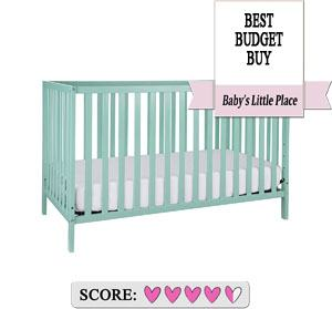 The best baby cribs to buy: Union 2-in-1 Convertible Crib