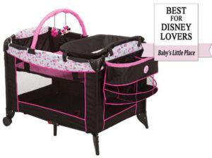 Best choice for Disney lovers: Disney Baby Minnie Mouse Sweet Wonder Playard