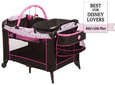 Best choice for Disney lovers: Disney Baby Minnie Mouse Sweet Wonder Playard
