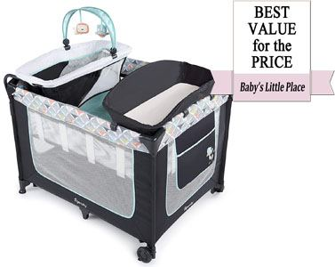 Best value for the price: Ingenuity Smart and Simple Portable Playard with Changing Table
