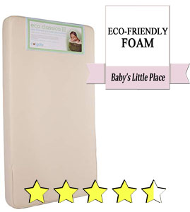 Colgate Eco Classica III dual-firmness baby crib mattress Review