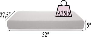 Milliard crib mattress dual comfort system specifications
