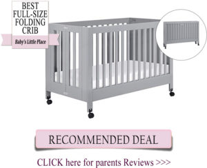 Best folding convertible crib