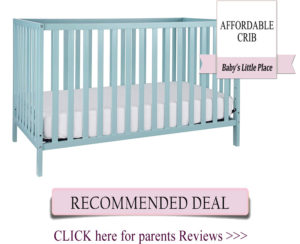 The cheapest convertible baby crib