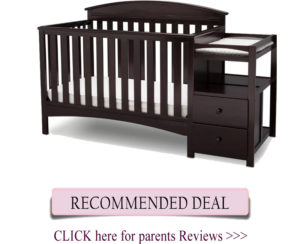 Best combo cribs: Delta Children Abby