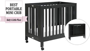 Best rated mini portable crib: Babyletto Origami