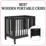 Best rated Wooden portable cribs