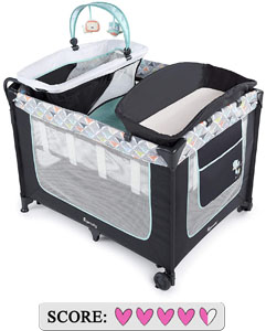 Ingenuity Smart and Simple Playard Review