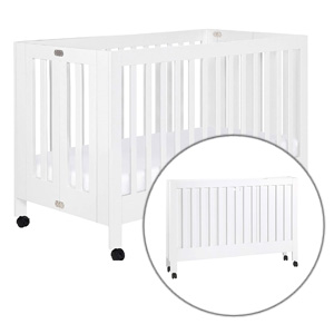 Best Rated Portable Cribs: Babyletto Maki