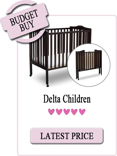 Best Rated Affordable Portable Crib: Delta Children