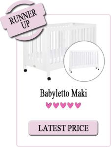 Best Rated Full-Size Portable Crib: Babyletto Maki