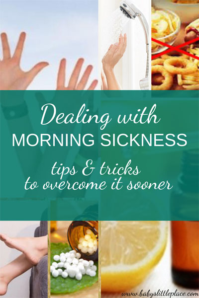 How to overcome morning sickness?