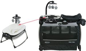 Best Graco Pack 'n Play with bassinet and Nearby Napper