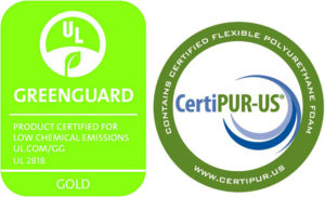 Greenguard and CertiPUR crib mattresses certification