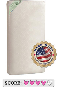 Kolcraft Pure Sleep Therapeutic 150 Toddler Baby Crib Mattress Review