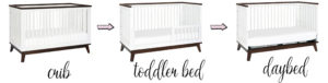 Babyletto Scoot 3-in-1 convertible crib conversions