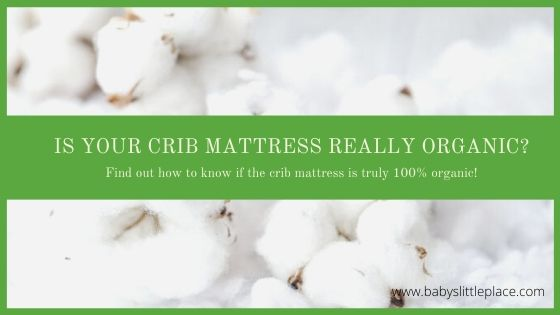 Is your crib mattress really 100% organic