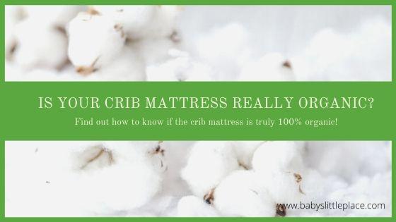 Is your crib mattress really 100% organic