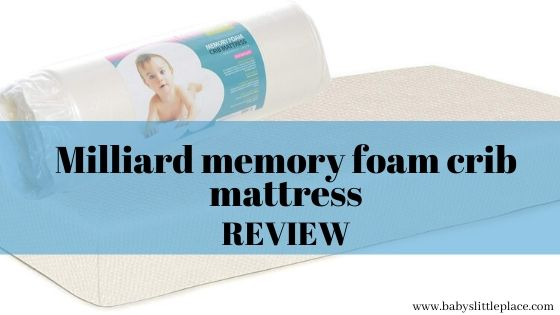 Milliard memory foam crib mattress review