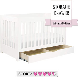Babyletto Mercer 3-in-1 convertible crib with an under crib storage drawer Review