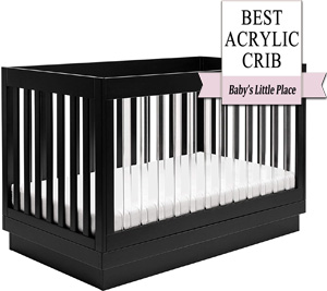 The Best Babyletto crib: Babyletto Harlow Acrylic 3-in-1 Convertible Crib