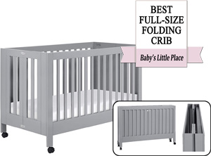 The best Babyletto full-size portable crib: Maki Full-Size Portable Folding Crib