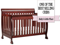 Best baby crib brands - DaVinci Kalani 4-in-1 convertible crib