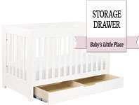 Best baby crib brands - Babyletto Mercer 3-in-1 convertible crib with under-crib storage drawer