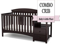 Best baby crib brands - Delta Children Abby convertible crib with changing table