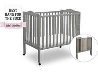 Best baby crib brands - Delta Children mini portable crib