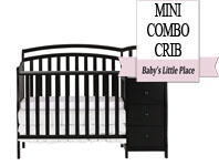 Best baby crib brands - Dream On Me Casco 3 in 1 Mini Crib and Dressing Table Combo
