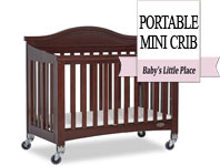 Best baby crib brands - Dream On Me Venice Folding Mini Portable Crib