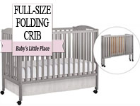Best baby crib brands - Dream On Me full-size folding crib