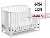 Best baby crib brands - Graco Freeport 4-in-1 Convertible Crib