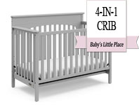 Best baby crib brands - Graco Lauren 4-in-1 Convertible Crib