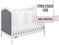 Best baby crib brands - Graco Linden Upholstered 3-in-1 Convertible Crib