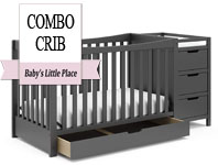 Best baby crib brands - Graco Remi All-in-One Convertible Crib with Drawer & Changer