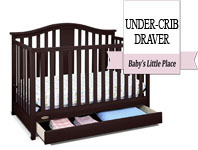 Graco Solano 4-in-1 Convertible Crib with DrawerBest baby crib brands - Graco Solano 4-in-1 convertible crib with drawer