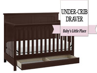 Best baby crib brands - Storkcraft Davenport 5-in-1 Convertible Crib with Drawer