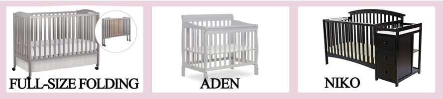 Best baby crib brands - Dream On Me