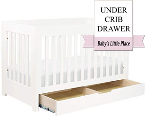 The best Babyletto 3-in-1 convertible crib with under-crib drawer