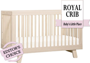 The best Babyletto 3-in-1 convertible crib - Hudson crib