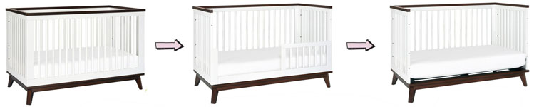The best Babyletto 3-in-1 convertible cribs - Scoot's conversions