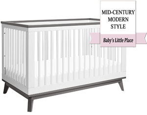 The best Babyletto's crib with a mid-century modern look - Babyletto Scoot