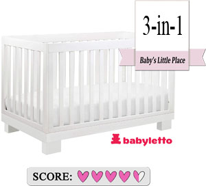 Babyletto Modo 3-in-1 convertible crib Review
