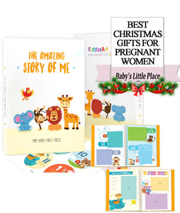 The Best Christmas Gifts for pregnant women in 2020 - The Amazing Story of Me by KiddosArt