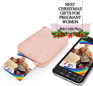 The Best Christmas Gifts for pregnant women in 2020 - A Portable Photo Printer