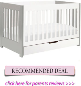 Best convertible crib with additional storage for petite moms